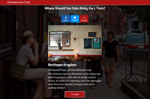 L Train Dating Quiz